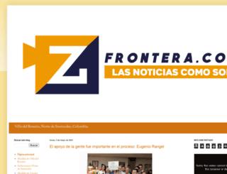 zfrontera.blogspot.com screenshot