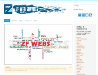 zfwebs.com screenshot