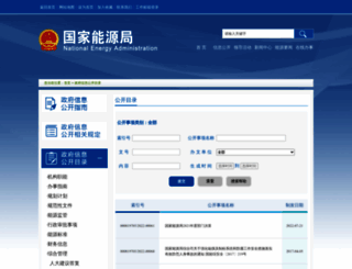 zfxxgk.nea.gov.cn screenshot