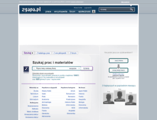 zgapa.pl screenshot