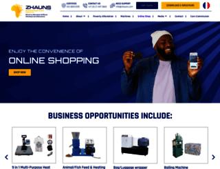 zhauns.co.za screenshot