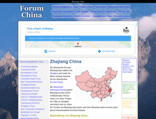 zhejiang-china.de screenshot
