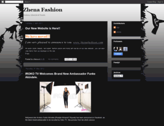 zhenafashion.blogspot.com screenshot