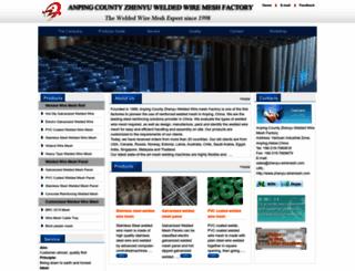zhenyu-wiremesh.com screenshot