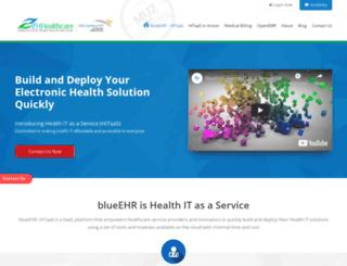 zhhealthcare.com screenshot