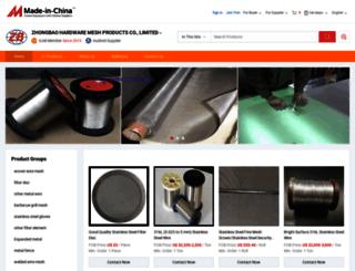 zhongbaowiremesh.en.made-in-china.com screenshot