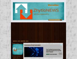zhytlonews.com screenshot