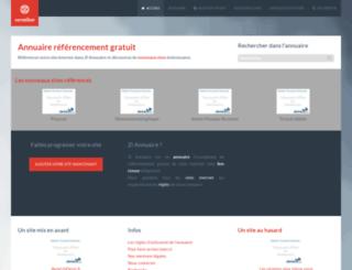 zi-annuaire.fr screenshot