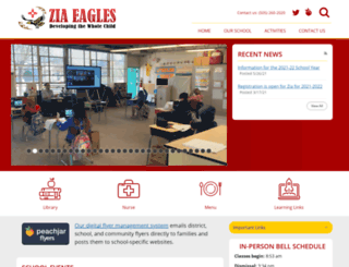zia.aps.edu screenshot