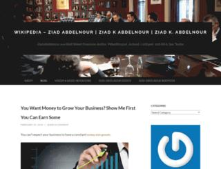 ziadkabdelnour.wordpress.com screenshot