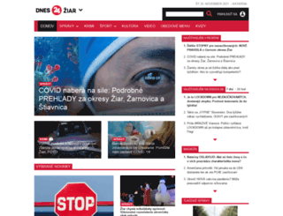 ziar24.sk screenshot