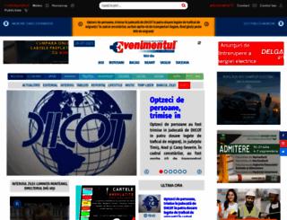ziarulevenimentul.ro screenshot