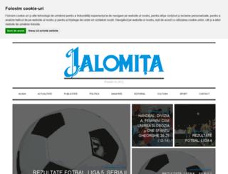 ziarulialomita.ro screenshot