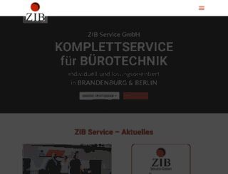 zib-service.de screenshot