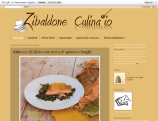 zibaldoneculinario.blogspot.fr screenshot