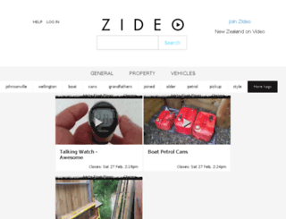 zideo.nz screenshot