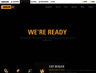 zieglercat.com screenshot