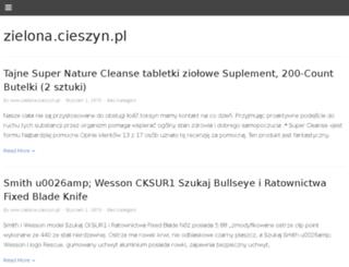 zielona.cieszyn.pl screenshot