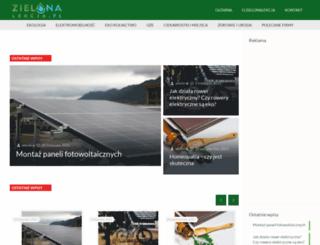 zielonalekcja.pl screenshot