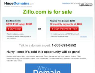ziflo.com screenshot