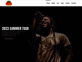ziggymarley.com screenshot