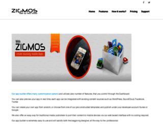 zigmos.com screenshot