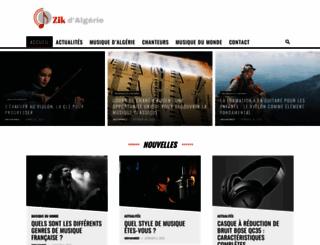 zikdalgerie.com screenshot