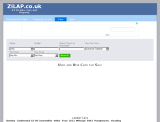 zilap.co.uk screenshot
