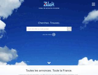 zilek.co.uk screenshot