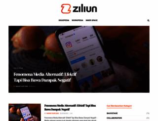 ziliun.com screenshot