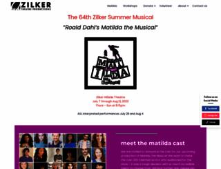 zilker.org screenshot