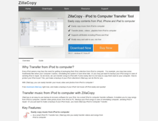 zillacopy.com screenshot