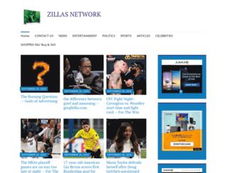 zillasnetworks.wordpress.com screenshot