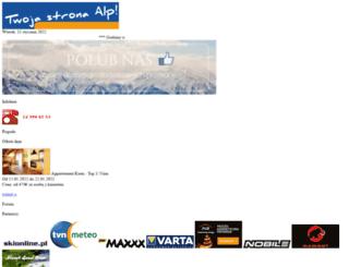 zillertalinfo.eu screenshot