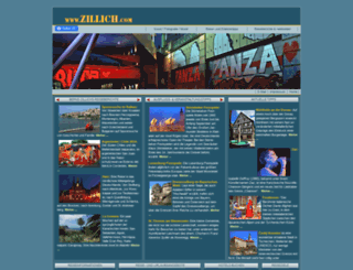 zillich.com screenshot