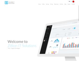 zillionit.com screenshot
