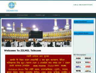 zilmiltelecom.com screenshot