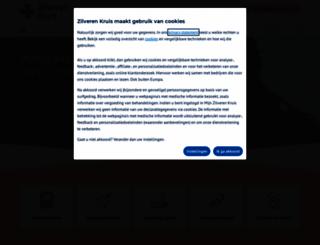 zilverenkruis.nl screenshot