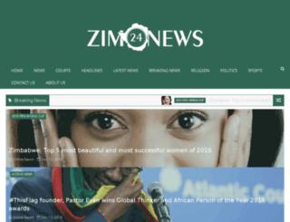zim24.africametros.com screenshot