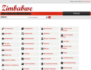 zimbabwe.qtellads.com screenshot