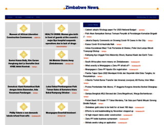 zimbabwe.shafaqna.com screenshot