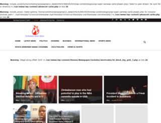 zimbabwelatestnews.net screenshot