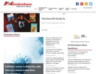 zimbabwenews.net screenshot