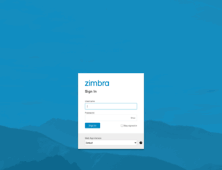 zimbra.basket40.com screenshot