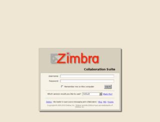 zimbracs.simplyms.com screenshot