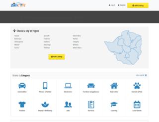 zimcart.com screenshot