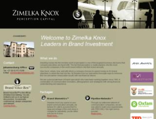 zimelkaknox.com screenshot