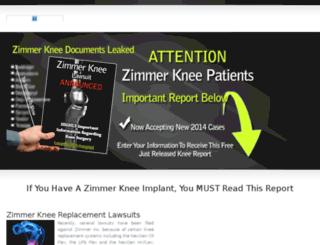 zimmerkneeattorney.com screenshot