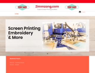 zimmzang.com screenshot