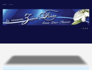 zinafiore.com screenshot